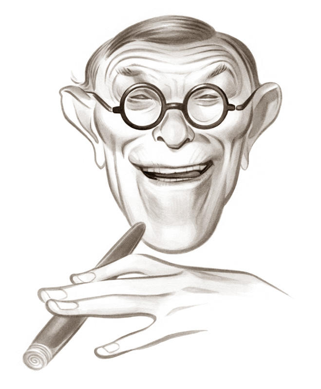 GEORGE BURNS / Reader's Digest