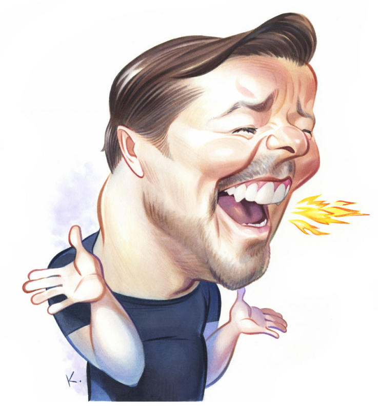 RICKY GERVAIS / Reader's Digest