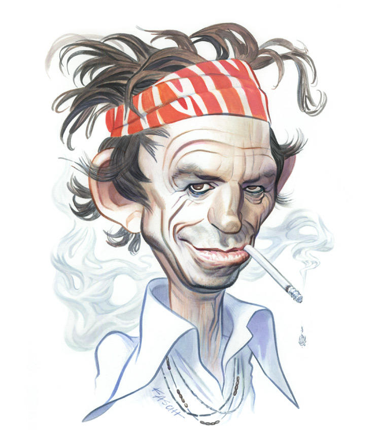 KEITH RICHARDS / Entertainment Weekly